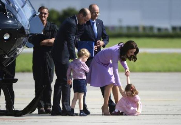 """Вака малата принцеза покажа кој е """"газда"""" - несекојдневна случка во кралското семејство"""
