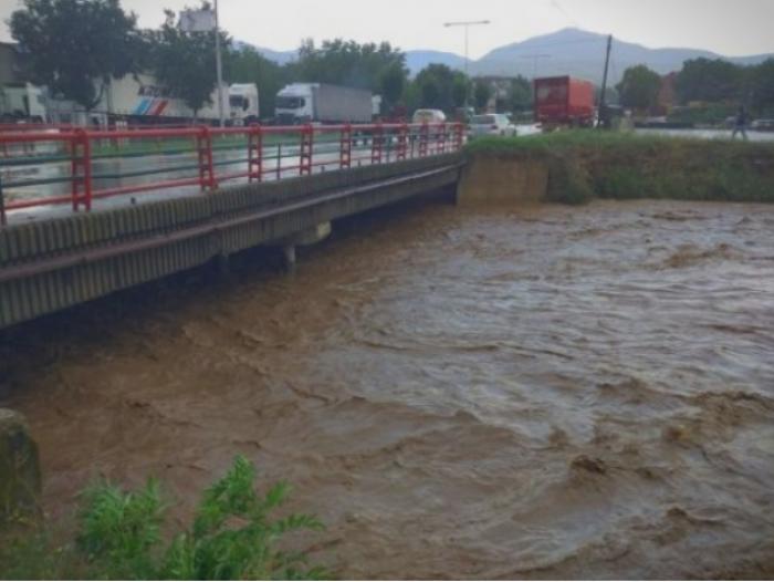 Радовиш како Венеција: За неполн час поплавени домови и објекти