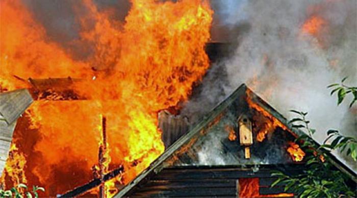 Пожар во викендичка во селото Прилепец