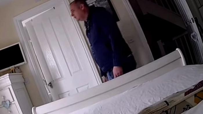 Му го дале клучот на соседот за да им ја чува куќата, останале згрозени кога ја прегледале снимката