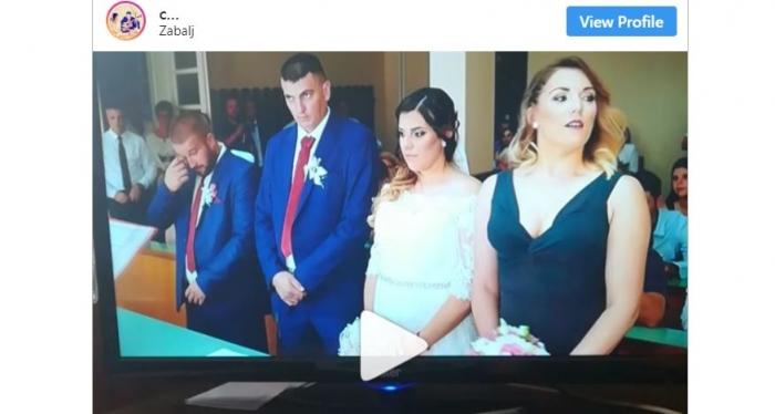 Младоженец кој стана вистинска интернет сензација