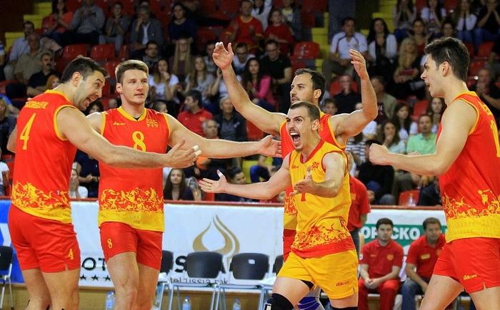 Македонија ќе игра на Европското одбојкарско првенство