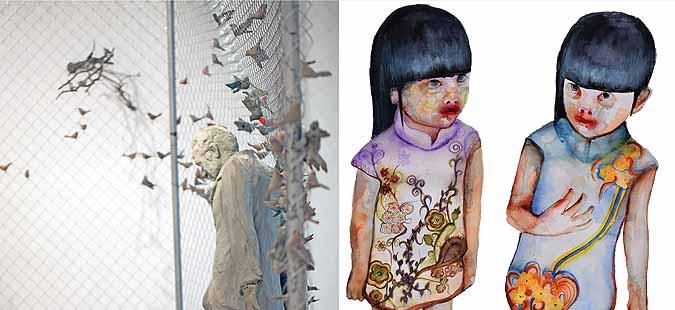 Изложба на Харис Кондосфирис и Кристина Ѕани од Грција во Остен
