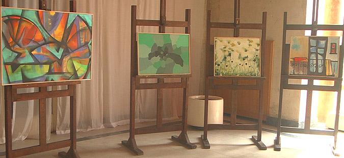 Делата од  Карпино  изложени во Кочани