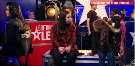 8 годишно девојче го изненади жирито  а тие гледаа во неверување