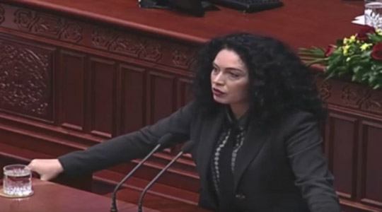 Пратениците на ВМРО ДПМНЕ поднесоа интерпелација за министерот Алаѓозовски