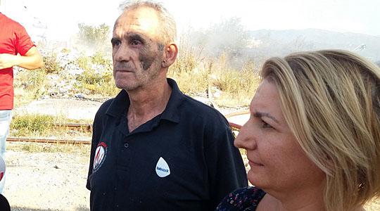 Пожарот на тетовската депонија ставен под контрола