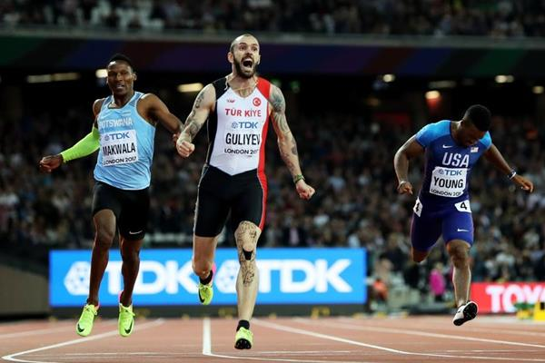 Гулиев светски првак на 200 метри