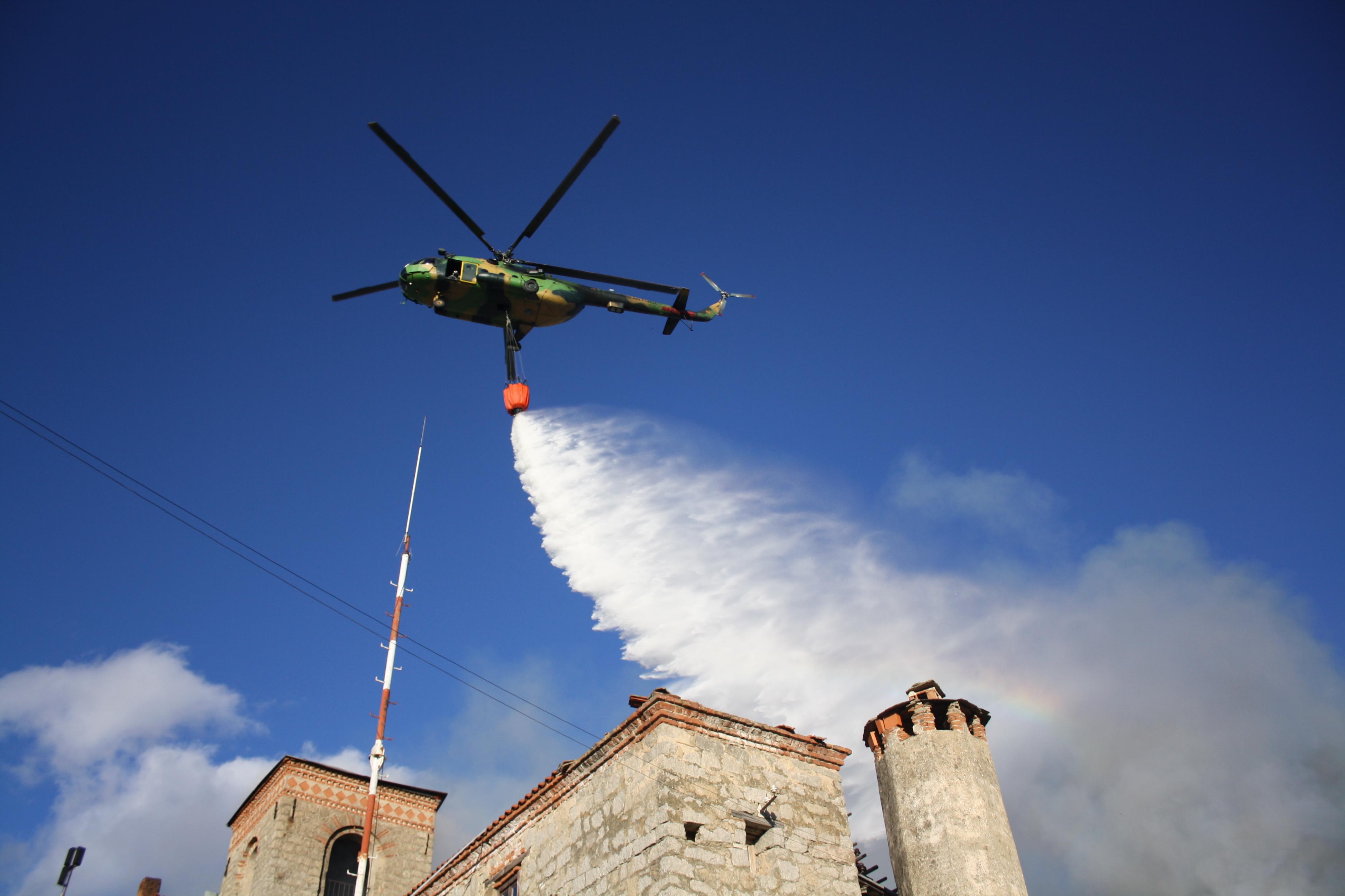 ЦУК  Пожарот околу манастирот Трескавец ставен под контрола