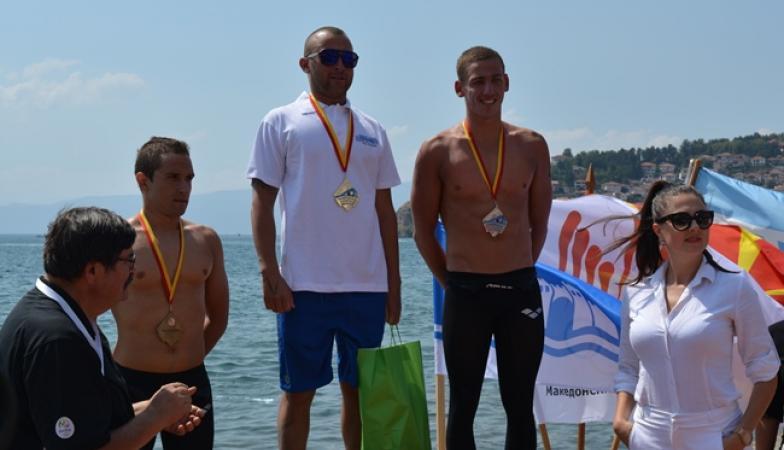Првиот олимписки маратон во Охрид во знакот на бугарските пливачи