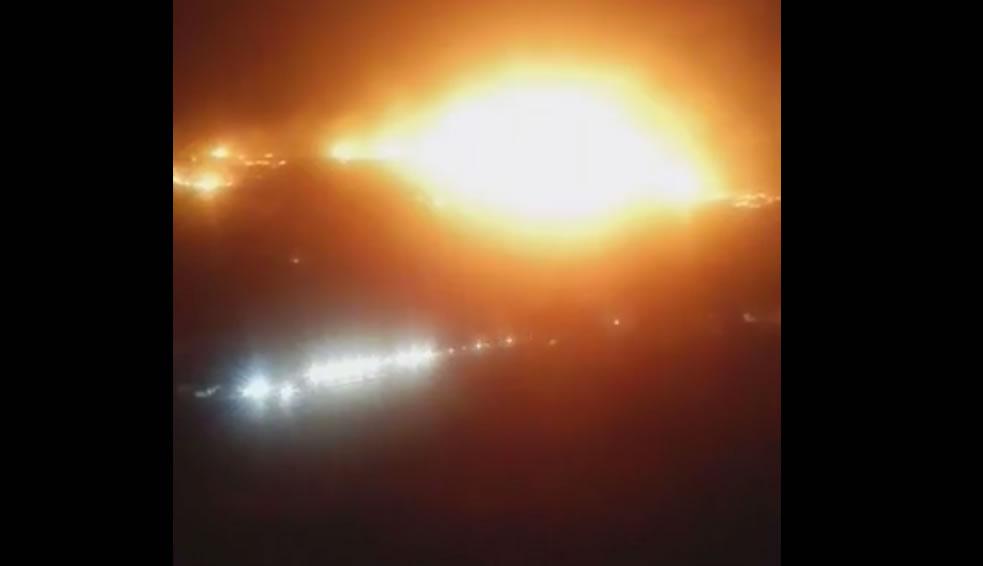 Страшни снимки од големиот пожар во скопско Кондово