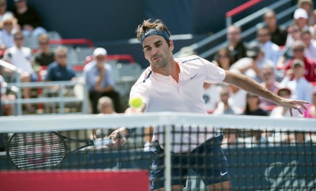 И со 47 грешки Федерер напредува во Монтреал