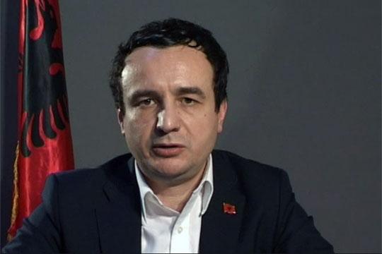 Албин Курти предлага референдум за обединување на Косово и Албанија
