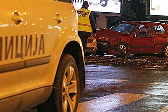Повредени четири лица  12 сообраќајки вчера во Скопје