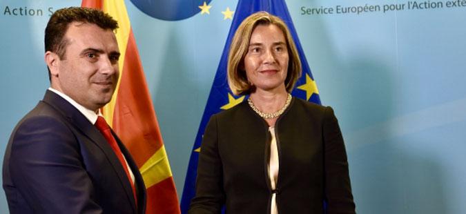 Заев утре на неформален состанок со премиерите од Западен Балкан кај Могерини