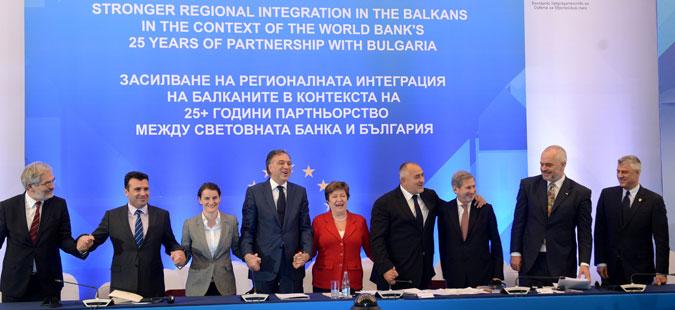 Балканските лидери се заложија за единствен економски регион