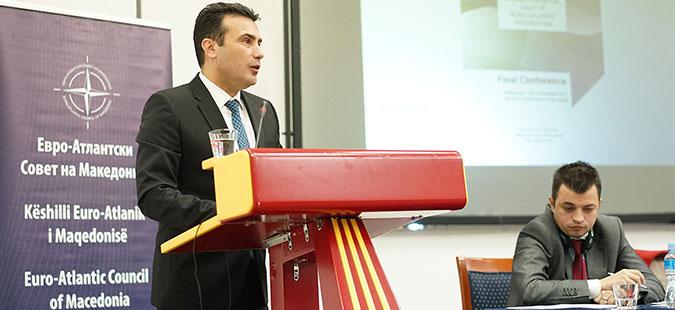 Заев  Можни се решенија за проблемот со Грција и за интеграцијата во НАТО и ЕУ