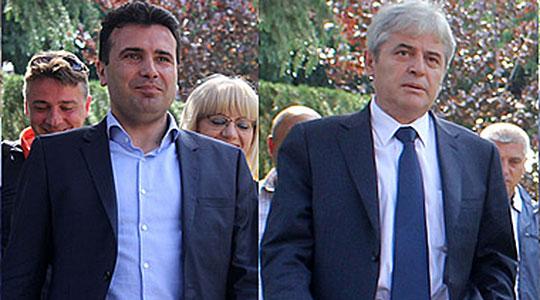 Завршени разговорите Заев   Ахмети за владиниот состав