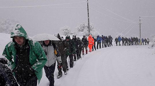 Зимско искачување на Руен во организација на ЗПЗП Калин Камен