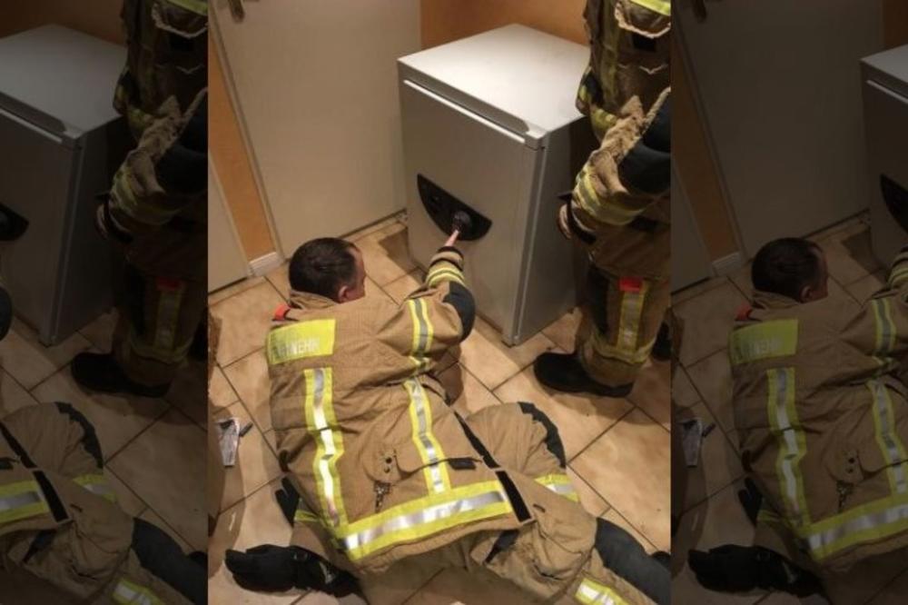 Деца си играа жмурки  а потоа се тргна наопаку  ќе се шокирате од каде го извадија пожарникарите