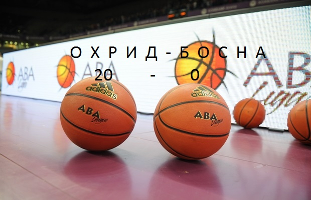 АБА  Службена победа за Охрид