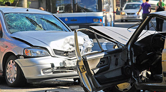 Во Скопје вчера 12 сообраќајки  еден потешко повреден