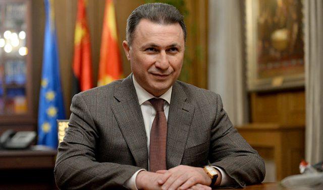 Груевски со пораки до кандидатите за нов претседател на ВМРО ДПМНЕ