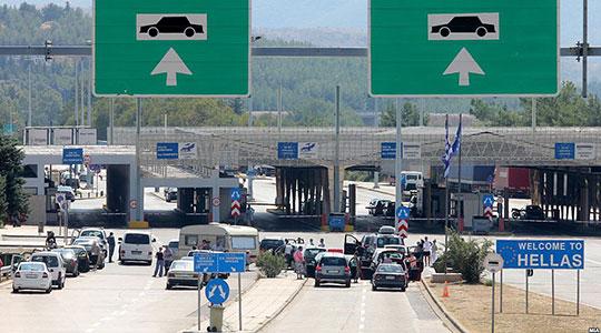 Граничниот премин Евзони отворен за сообраќај
