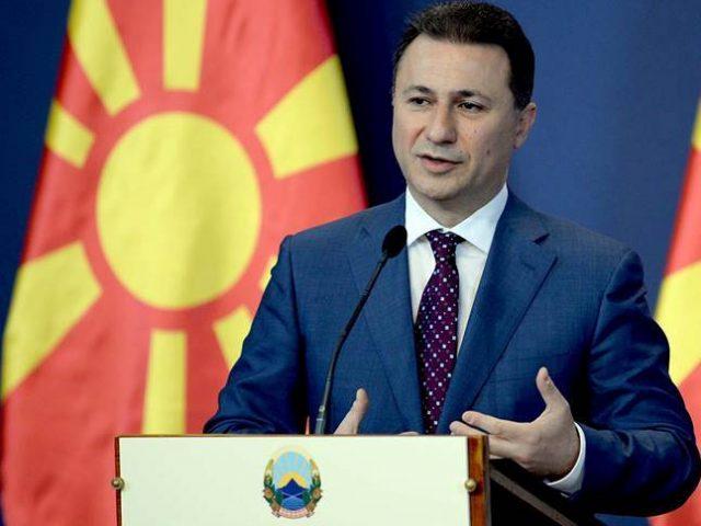 Груевски  Прифаќам да ме уапсат  затворат и малтретираат  Заев нека удри по мене  само нека се откаже од удирање по темелите на државата