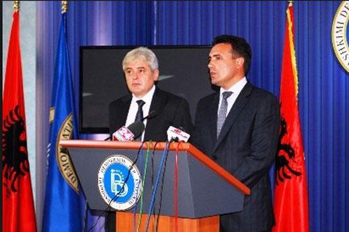 Коха  Заев се согласил на промена на химната и знамето   ДУИ побарала гаранции дека ќе го исполни