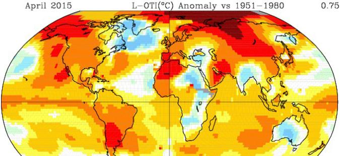 Температурите во светот лани со нов рекорд трета година по ред