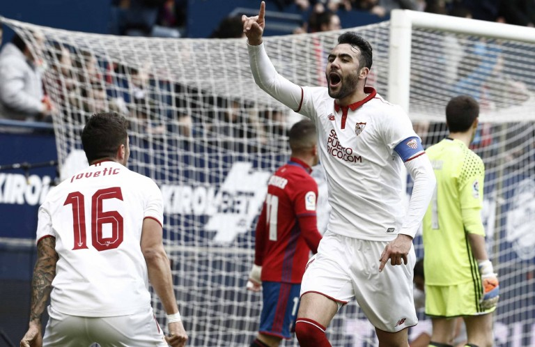 Дури 4 гола и беа потребни на Севилја за победа во Памплона