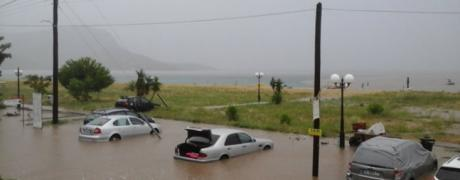 Невреме во Грција  Се евакуираат Лепотокарија  Парајлија  Неа Врасна  Парга  Ханиоти  Пефкохори  Трикали и Торони