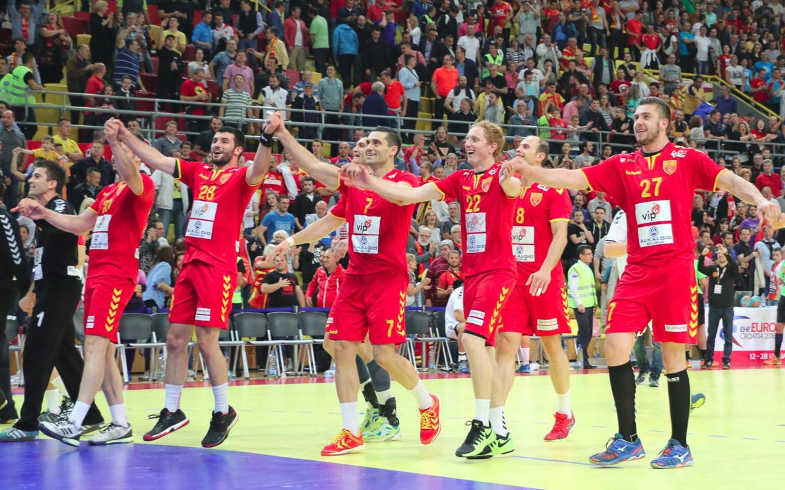 Македонските ракометари убедливи против Чешка за потврда на пласманот на ЕП 2018