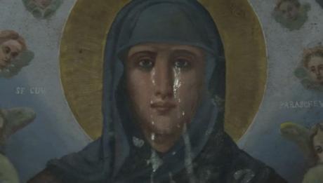 Божјо чудо  Заплака иконата на Света Петка