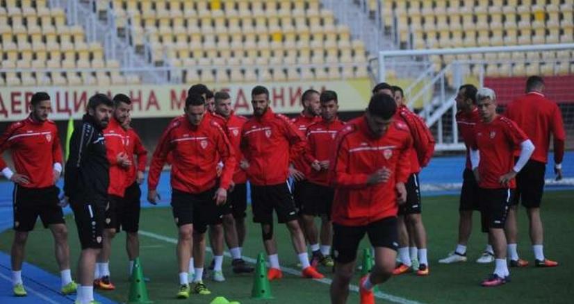 Спировски и Тошевски нови имиња во А тимот
