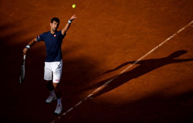 Ѓоковиќ во 3  коло на турнирот во Рим