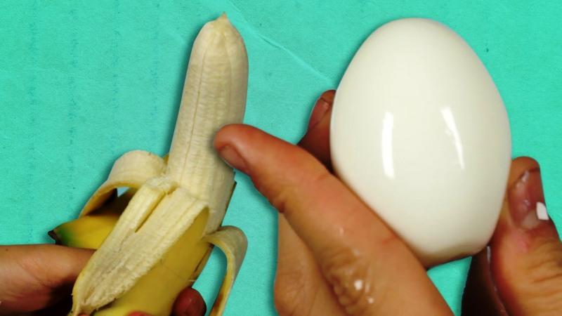 Како да излупиме лук  јајце  банана и компир за 5 секунди