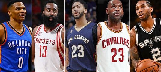НБА  Објавена најдобрата петорка сезонава