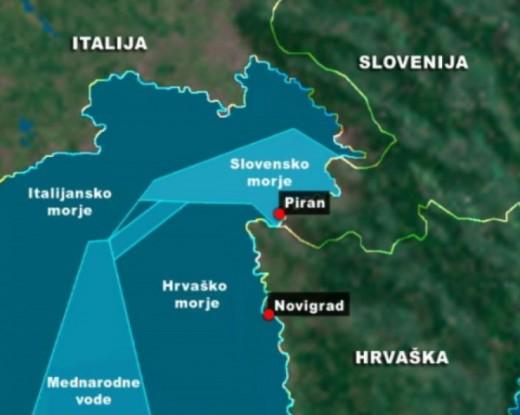 Инцидент меѓу хрватската и словенечката полиција во Пиранскиот Залив