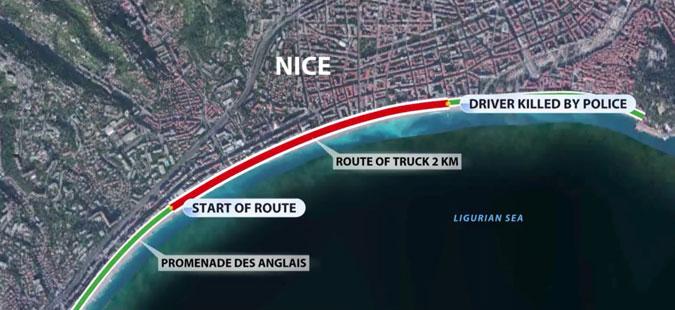 Пукотници во близина на пристаништето во Ница