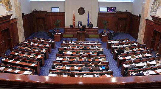 Прераспределбата на средствата буџетските корисници на централната власт и фондовите на собраниска седница