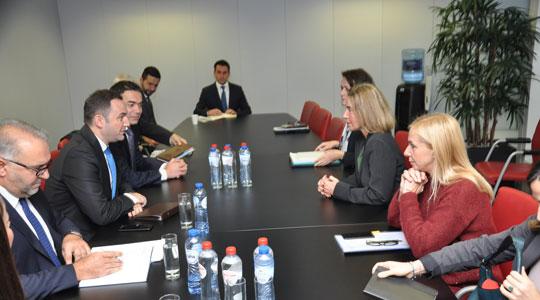 Османи и Димитров во Брисел на средба со Могерини