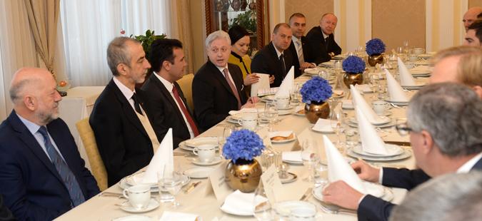 Заев пред словенечките стопанственици ги презентираше можностите за инвестирање во Македонија