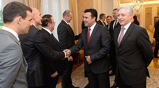 Заев во Словенија ги презентира можностите за инвестирање во Македонија