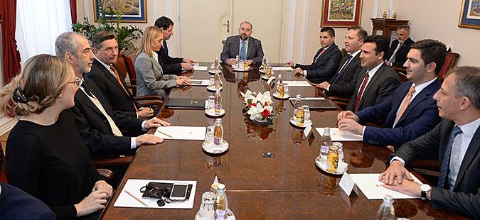 Пахор  Македонија да биде следна членка на НАТО и да почне преговори со ЕУ