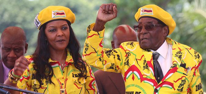 Армијата тврди дека ги привела претседателот Мугабе и неговата сопруга