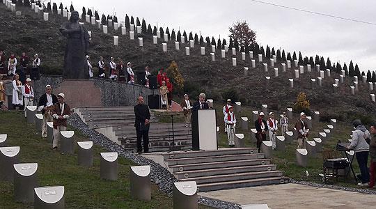 Во Зајас погребани посмртни останки на албански жртви од 1913 до Втората светска војна