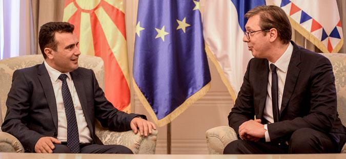 Заев Вучиќ  Пред Македонија и Србија извонредни можности за нови иницијативи
