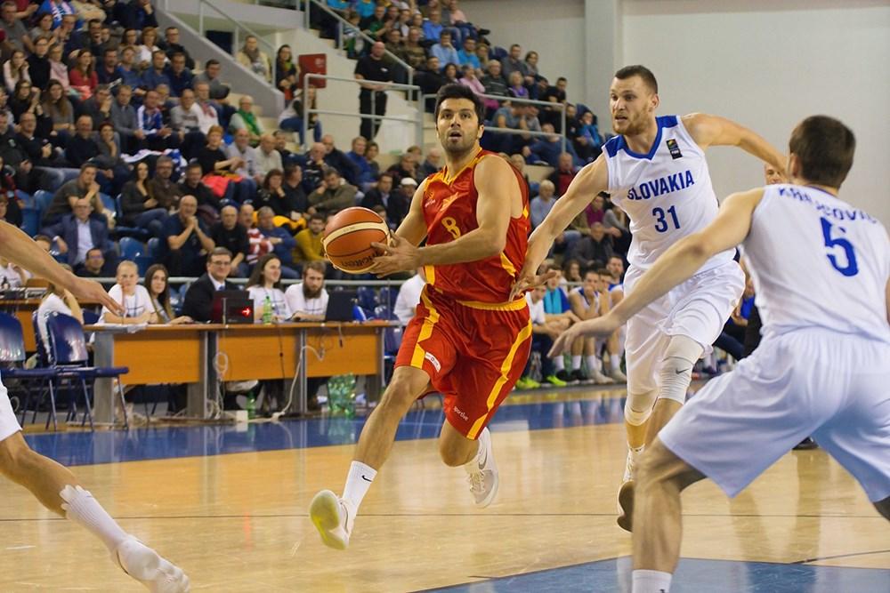 Важна победа на македонските кошаркари против Словачка